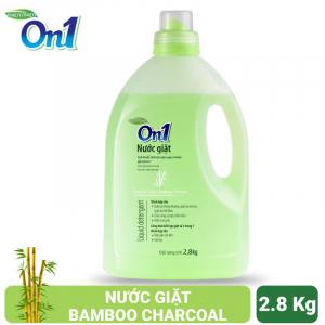 Nước giặt On1 hương Bamboo Charcoal 2.8Kg - Sạch khuẩn, khử mùi, kết hợp giặt xả 2 trong 1 - NGB2