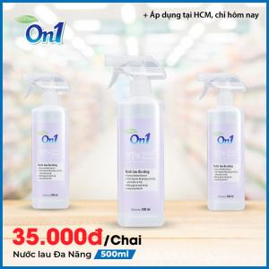 Nước lau đa năng On1 hương Bamboo Charcoal 500ml - DN500
