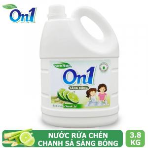 Nước rửa chén On1 hương chanh sả 3.8Kg - C5ON1
