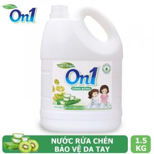 Nước rửa chén On1 hương kiwi và aloe vera 1.5Kg - N4ON1