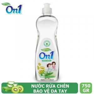 Nước rửa chén On1 hương kiwi và aloe vera 750g - N3ON1