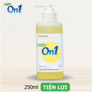 Nước rửa tay sạch khuẩn On1 250ml hương Chanh YUZU - RT252