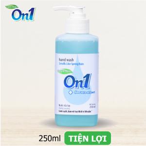 Nước rửa tay sạch khuẩn On1 250ml hương Lotus Rice - RT250