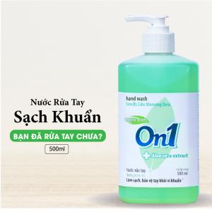 Nước rửa tay sạch khuẩn On1 500ml hương White Tea - RT503