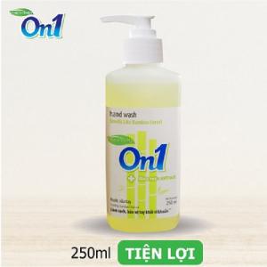 Nước rửa tay sạch khuẩn On1 250ml hương BamBoo Charcoal - RT254