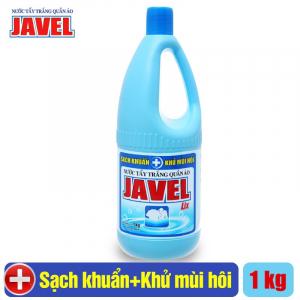 Nước tẩy trắng quần áo Javel Lix 1Kg - Sạch khuẩn - JL100