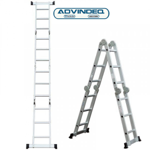 Thang nhôm gấp gọn đa năng 4 đoạn Advindeq ADM103