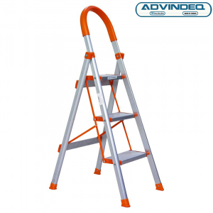 Thang nhôm ghế 3 bậc xếp gọn Advindeq ADS703