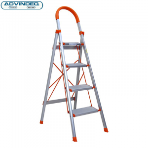 Thang nhôm ghế 4 bậc xếp gọn Advindeq ADS704