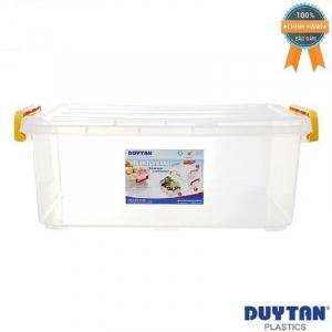 Thùng Nhựa Duy Tân Trong Suốt 10 Lít 43 x 28 x 15 cm No.H115 - 636FNV
