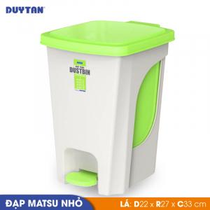 Thùng Rác Đạp Matsu Nhỏ Nhựa Duy Tân - 0271