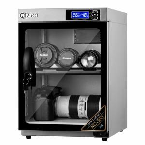 Tủ chống ẩm Nikatei NC-30S SLIVER PLUS (30 Lít)