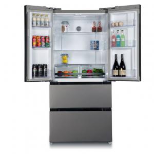 Tủ lạnh Side by Side KAFF KF-BCD523W (2 cánh mở trên, 2 ngăn rút dưới)