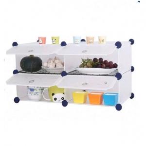Tủ nhựa đa năng Tupper Cabinet 4 ngăn TC-4W (Trắng)