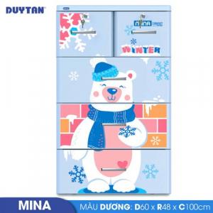 Tủ nhựa Duy Tân Mina (4 tầng - 5 ngăn) - 0225/4