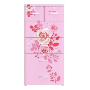 Tủ nhựa Duy Tân Mina (5 tầng - 6 ngăn) - 0225/5