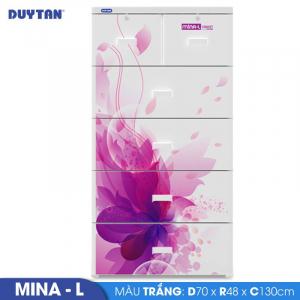 Tủ nhựa Duy Tân Mina L - 5 tầng 6 ngăn - Nhiều màu - 915/5