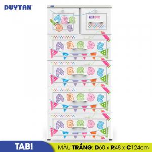 Tủ nhựa Duy Tân Tabi - 5 tầng 6 ngăn - Nhiều màu - H159/5