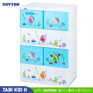 Tủ nhựa Duy Tân Tabi Kids 2 - 4 tầng 6 ngăn - Nhiều màu - 1274/4