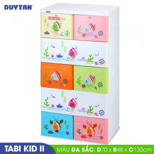 Tủ nhựa Duy Tân Tabi Kids 2 - 5 tầng 8 ngăn - Nhiều màu - 1274/5