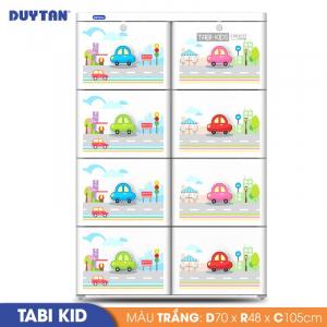 Tủ nhựa Duy Tân Tabi Kids - 4 tầng 8 ngăn - Nhiều màu - 935/4