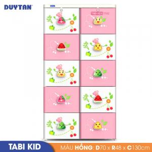 Tủ nhựa Duy Tân Tabi Kids - 5 tầng 10 ngăn - Nhiều màu - 935/5