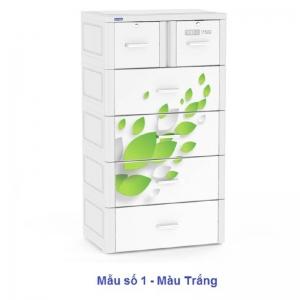 Tủ Nhựa Duy Tân Tabi-L (5 tầng - 6 ngăn)