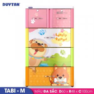 Tủ nhựa Duy Tân Tabi M - 4 tầng 5 ngăn - Nhiều màu - 468/4