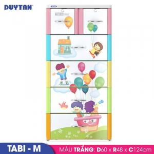 Tủ nhựa Duy Tân Tabi M - 5 tầng 6 ngăn - Nhiều màu - 468/5