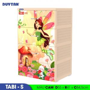 Tủ nhựa Duy Tân Tabi-S (4 tầng) - 0222/4