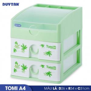 Tủ nhựa Duy Tân Tomi A4 - 3 ngăn - Nhiều màu - 220/3