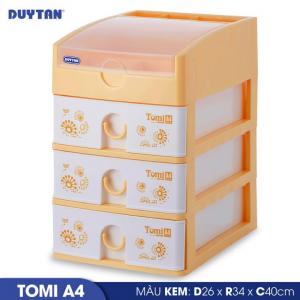 Tủ nhựa Duy Tân Tomi A4 - 4 ngăn - Nhiều màu - 220/4
