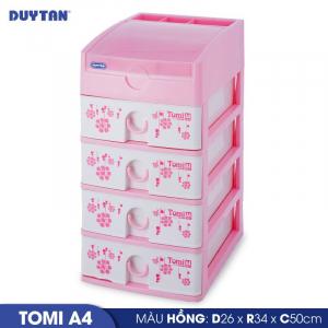 Tủ nhựa Duy Tân Tomi A4 - 5 ngăn - Nhiều màu - 220/5