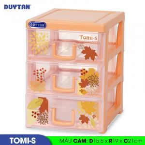 Tủ nhựa Duy Tân Tomi S - 3 ngăn - Nhiều màu - 1136/3