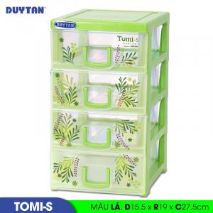 Tủ nhựa Duy Tân Tomi S - 4 ngăn - Nhiều màu - 1136/4