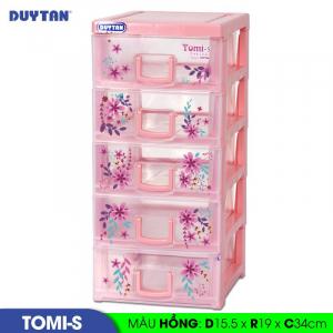 Tủ nhựa Duy Tân Tomi S - 5 ngăn - Nhiều màu - 1136/5