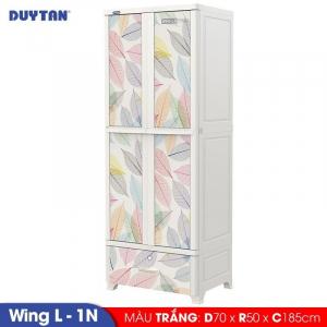 Tủ nhựa Duy Tân Wing L 1N - 2 cửa 1 ngăn - Nhiều màu - 1232