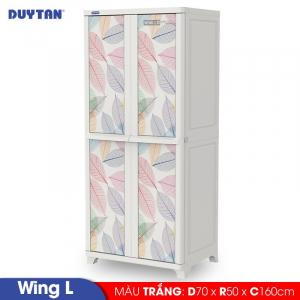 Tủ nhựa Duy Tân Wing L - 2 cửa - Nhiều màu - 1231