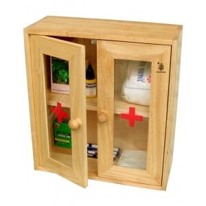 Tủ thuốc cửa mica Gỗ Đức Thành 40241