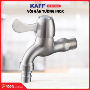 Vòi Rumine gắn tường inox KAFF KF-FC8022