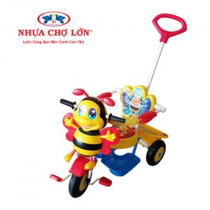 Xe 3 bánh Nhựa Chợ Lớn - L8 Con ong ĐKBH - M1605A-X3B (Có điều khiển)