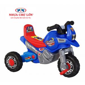 Xe 3 bánh thổi Nhựa Chợ Lớn - L7 Moto K4 - M1674A-X3B