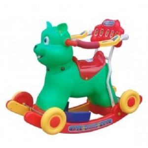 Xe bập bênh - M1246-XBB - Có Vòng Bảo hiểm (Con Thỏ)