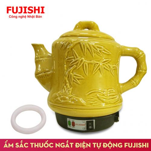 Ấm sắc thuốc điện GỐM BÁT TRÀNG Fujishi HK-33G/SV-606 (Vàng Gold)