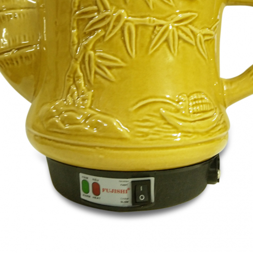 Ấm sắc thuốc điện GỐM BÁT TRÀNG Fujishi HK-33G/SV-606 (Vàng Gold)-3