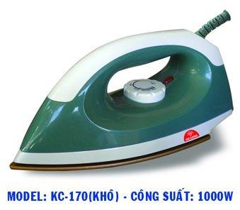 Bàn ủi khô Kim Cương KC-170-1