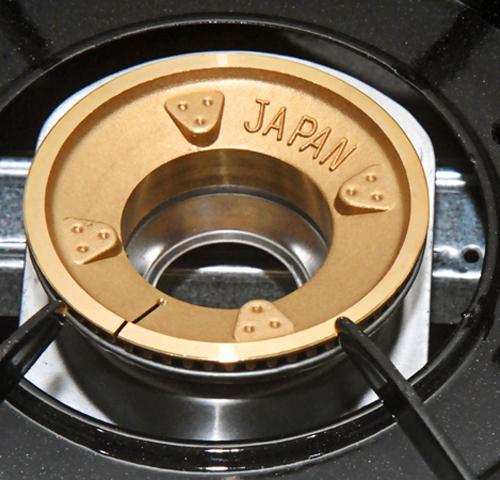 Bếp BIOGAS chén đồng khung Inox Fujishi FJ-BG8-1