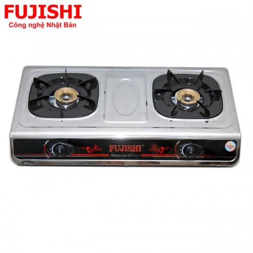 Bếp BIOGAS chén đồng khung Inox Fujishi FJ-BG8-2