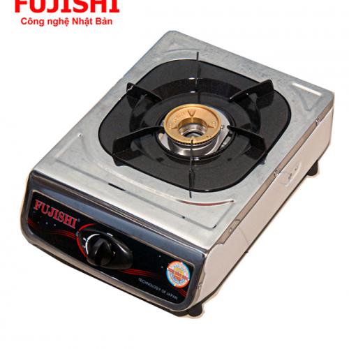 Bếp BIOGAS đơn chén đồng khung Inox Fujishi FJ-BG2-1