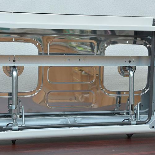 Bếp gas 7 tấc Rinnai RV-370SM(N), Chén gang đúc-5